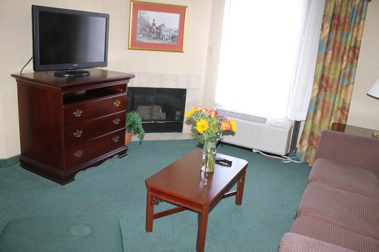 Hampton Inn and Suites Florence-Civic Center: Living Room
