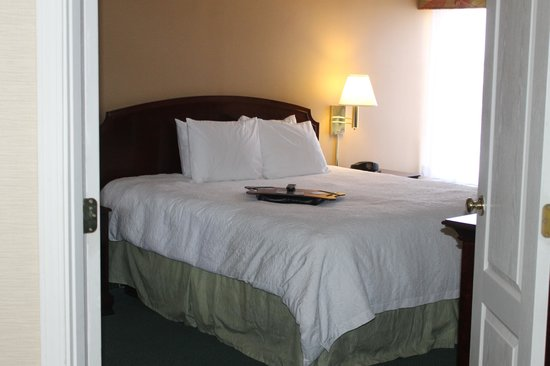 Hampton Inn and Suites Florence-Civic Center: Bedroom (king with duvet)