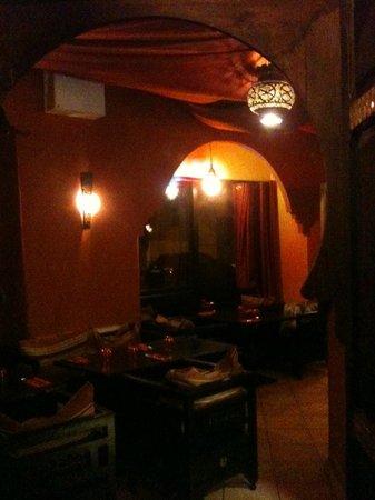 La Casbah: la salle de resto