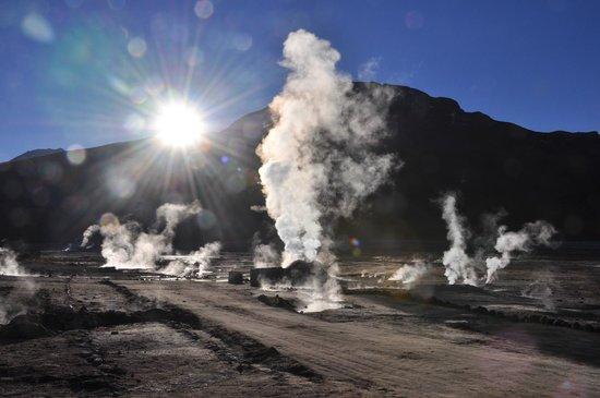 Parina Atacama Apart Hotel: Geiseres del Tatio Excursion desde el hotel
