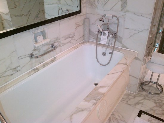 The Dorchester: Deepest bath - ever!