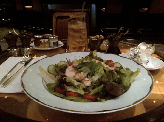 The Dorchester: Delicious chicken salad with thousand island dressing