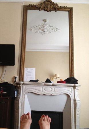 Hotel Bonaparte: Resting upon arrival