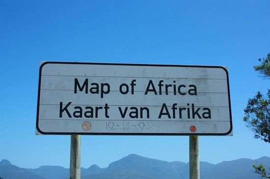 Map of Africa Viewpoint : Map of Africa