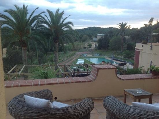 Sant Pere del Bosc Hotel & Spa: view from room 01
