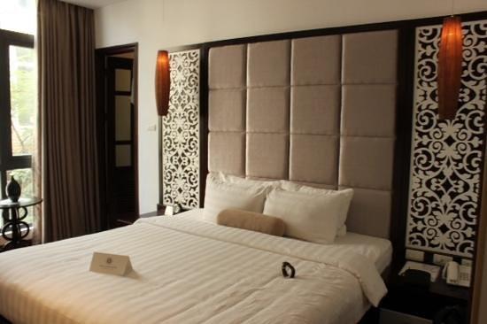Hanoi Glance Hotel: Our room