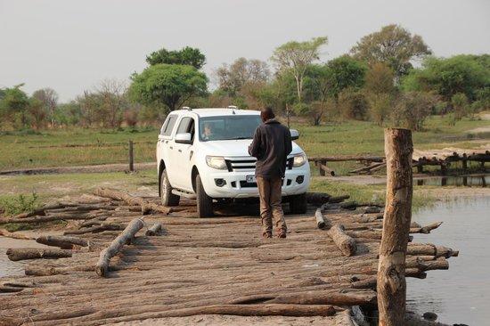 Nkasa Lupala Tented Lodge: uitdaging
