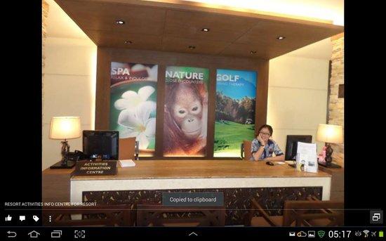 Shangri-La's Rasa Ria Resort & Spa: activities organiser