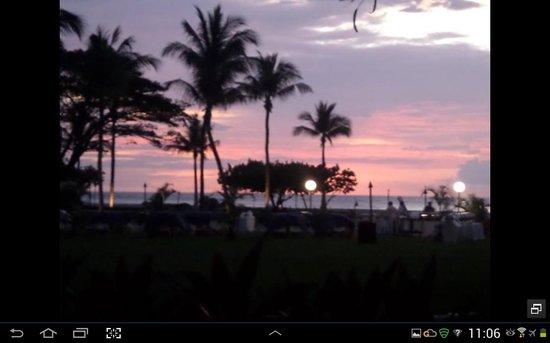 Shangri-La's Rasa Ria Resort & Spa: sunset