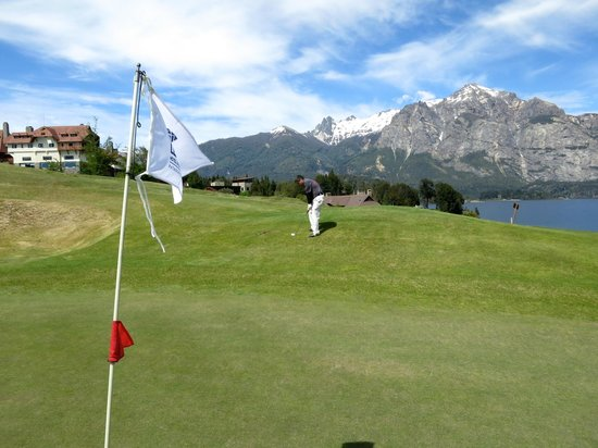 Llao Llao Hotel and Resort, Golf-Spa : campo de golf