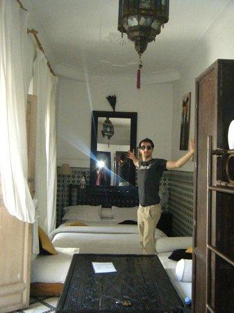Les Couleurs de l'Orient: our room