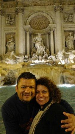 Roma Experience Tours : Fontana de Trevi....Simplesmente Linda,Maravilhosa e Romantica!