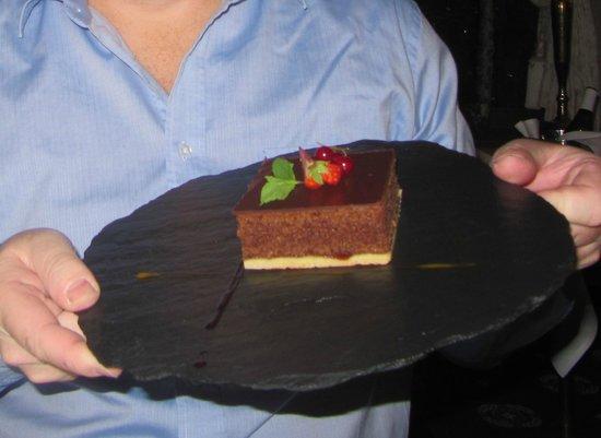 Ferienart Resort & Spa : Surprise pour mon anniversaire.Simple bout de gateau d'étudiant,sans bougie....triste