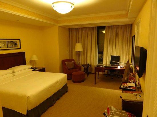 Crowne Plaza Century Park Shanghai : Room view - on club floor