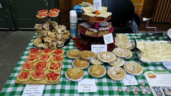 Teatime Collective: Cakes on Sale at Manchester Anarchist Bookfair
