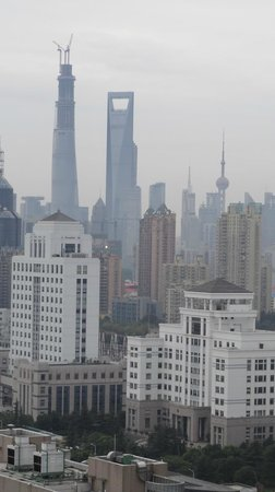 Crowne Plaza Century Park Shanghai: View on Shanghai Skyline