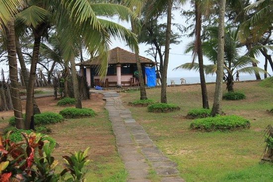 Varca Palms Beach Resort : Beach Area
