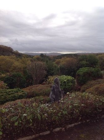 Knockillaree Riding Centre : view from Forest Hills B&B in Oughterard