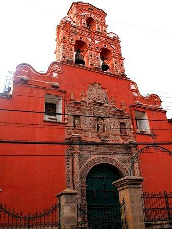 Santa Teresa Convent Museum - Convento Museo Santa Teresa: fachada da igreja Santa Teresa
