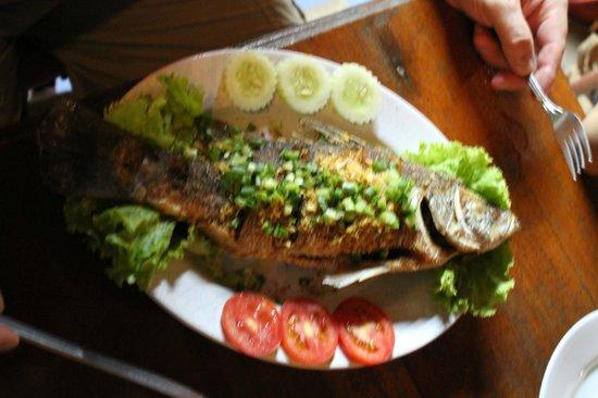Tohko Beach Resort : Fresh Fish at Tohko restaurant