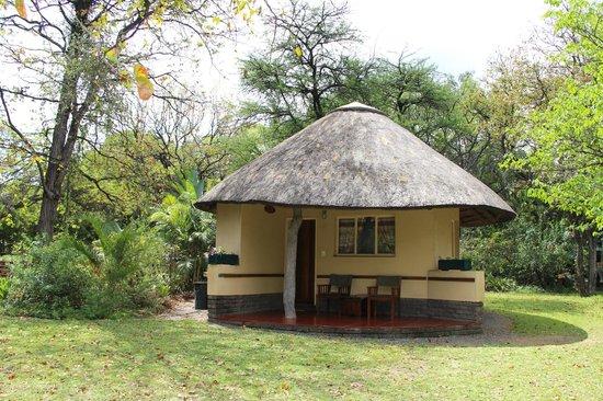 Aha Sefapane Lodge and Safaris : De rondavel