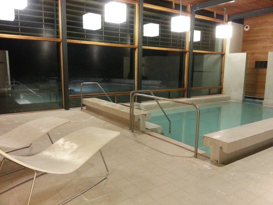 Silica Hotel Outside The Changing Room Enter Indoor Pool That Leads