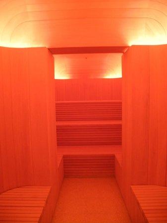 Cafe Royal Hotel: Die Sauna