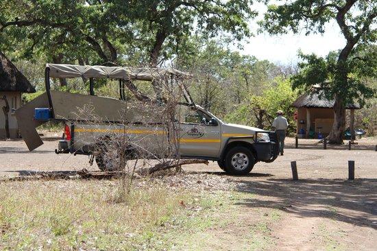 Aha Sefapane Lodge and Safaris: Ochtendsafari