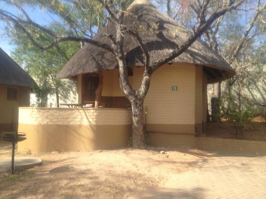 Skukuza Rest Camp: Houses are well spaced out