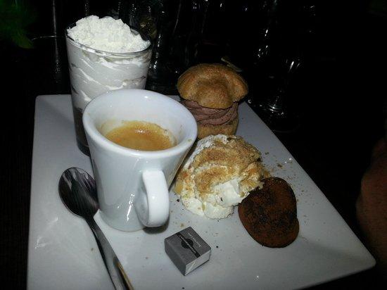 La Paillote : café gourmand