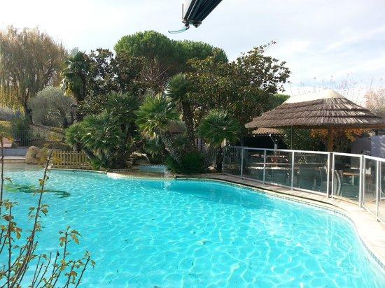 La Paillote : piscine