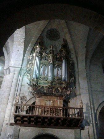 Monasterio de Fitero: Organo