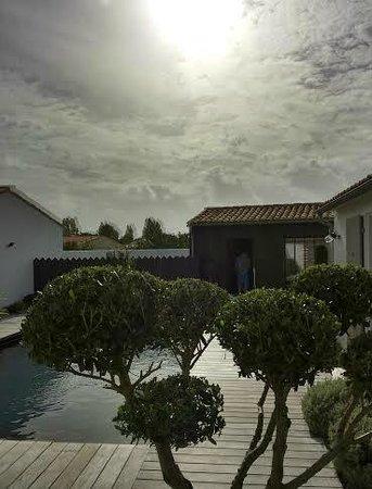 Ô Cyprès : la piscine