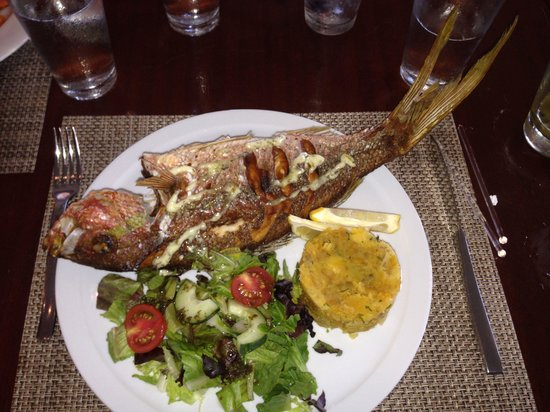 The St. Regis Bahia Beach Resort, Puerto Rico: Best seafood!