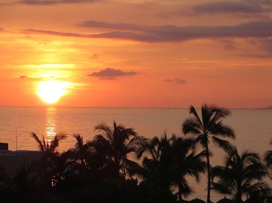 Secrets Vallarta Bay Puerto Vallarta : Coucher de soleil
