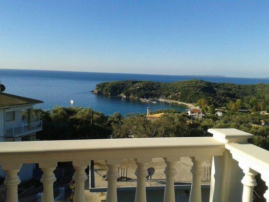 Hotel Parga Princess: View from our balcony