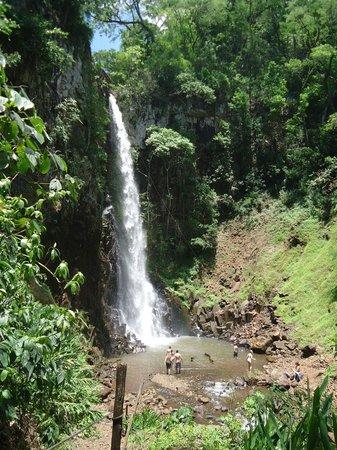 Cassorova Eco Park : Cachoeira dos Quatis no parque da Cassorova