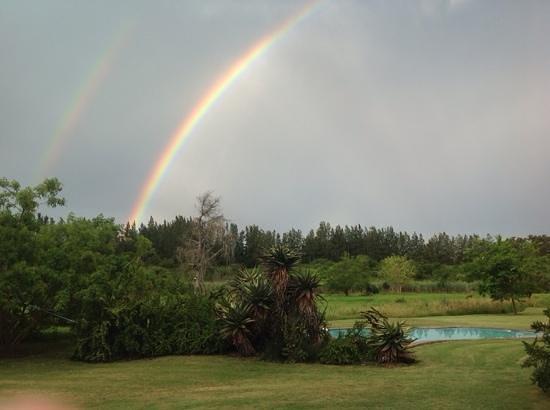 Chrislin African Lodge: Rainbows above Chrislin, November 2013