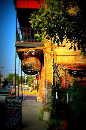 The Cork Yard Wine Bar & Bistro: View from Street