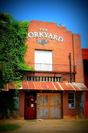 The Cork Yard Wine Bar & Bistro: Back of Building