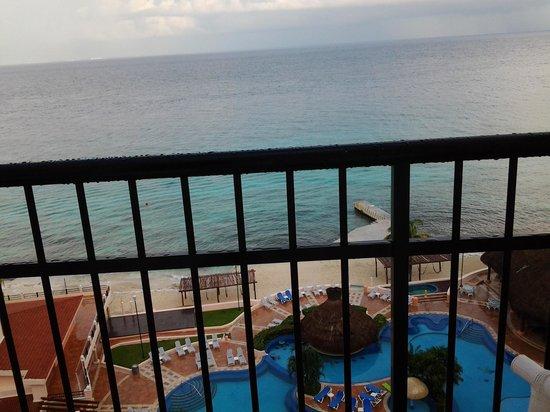 El Cozumeleno Beach Resort: vista desde la habitacion