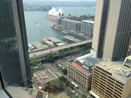 Sydney Harbour Marriott Hotel at Circular Quay : Lovely view