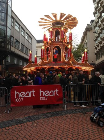 Victoria Square: German Market in Birmingham 2013