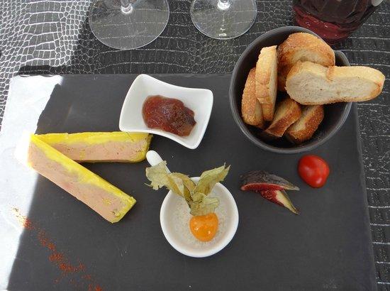 Aux Enfants Terribles : Foie gras et confiture de figues corses