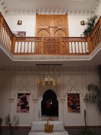 Riad Radia: Main Courtyard