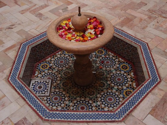 Riad Radia : Courtyard Fountain