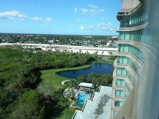 View from our room - Picture of Grand Hyatt Tampa Bay, Tampa ...