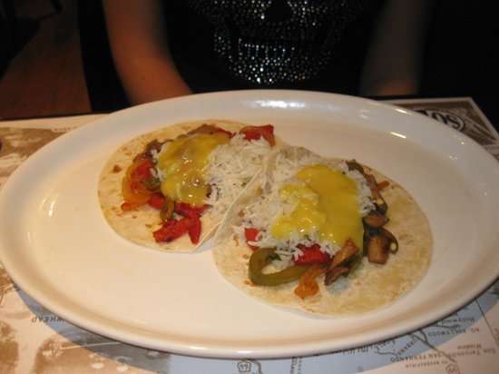 SoCA Restaurant & Bar: Tacos vegetales