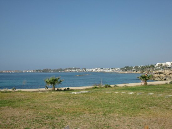 Suite48 Grill & Lounge Bar: Paphos gulf view