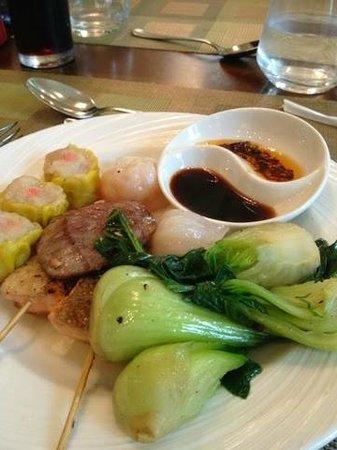 Ingredients: My Oriental plate